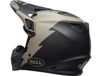 Casque cross Bell MX-9 Mips Strike - Kaki Noir