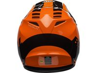 Casque cross Bell MX-9 Mips Dash - Orange Noir