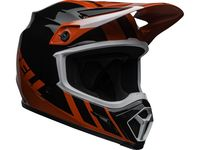 Casque cross Bell MX-9 Mips Dash - Rouge Noir