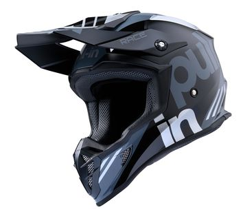 Casque cross Pull-In by Kenny 2020 Race - Gris Argent