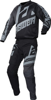 Tenue cross enfant 2020 Answer Syncron Voyd - Gris Noir