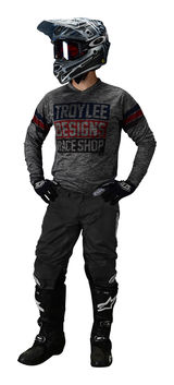 Tenue cross Troy Lee Designs 2020 GP Elsinoire - Gris Bleu