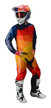 Tenue cross Troy Lee Designs 2020 GP Air Jet - Jaune Orange
