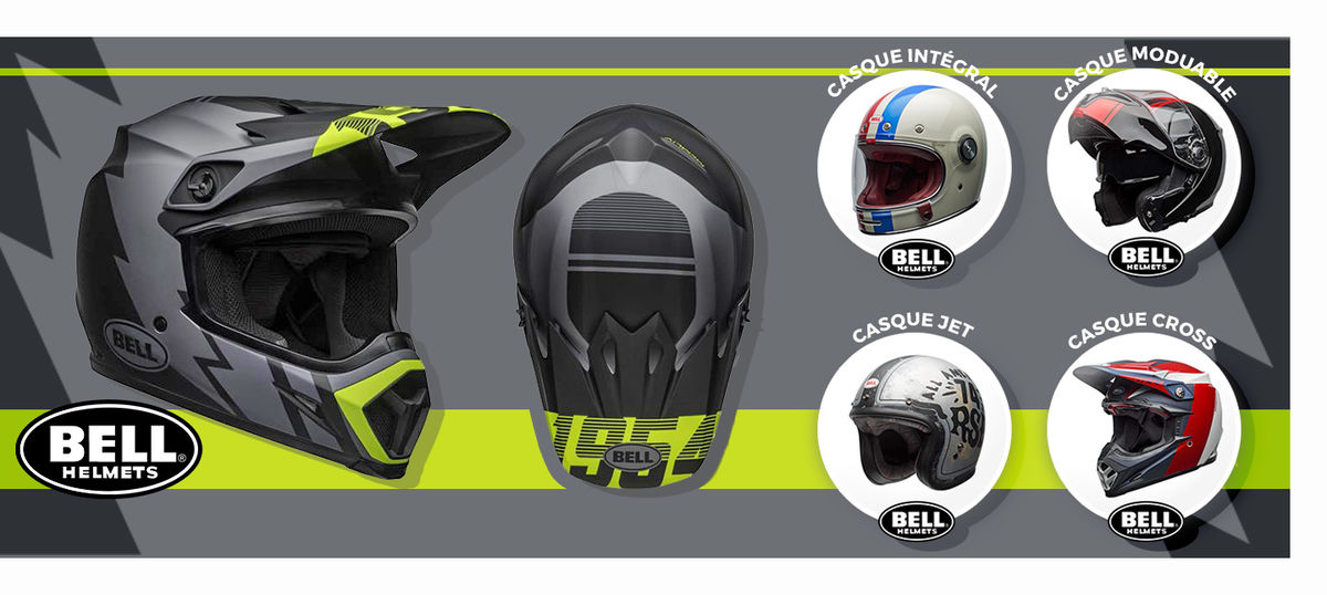 Casques moto Bell