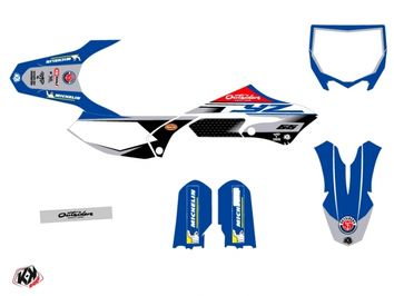 Kit déco Kutvek Replica Team OUTSIDERS 2020 Yamaha 65 YZ 2018-2020