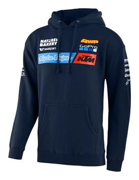 Sweat Shirt Troy Lee Designs KTM 2020 Team - Bleu