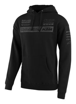Sweat Shirt Troy Lee Designs KTM 2020 Team - Noir
