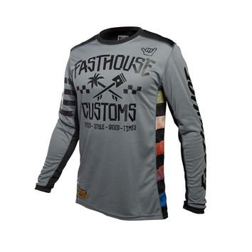 Maillot cross enfant Fasthouse 2020 Hawk - Gris