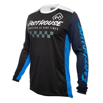 Maillot cross Fasthouse 2020 Rally - Noir Bleu