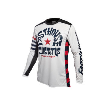 Maillot cross Fasthouse 2020 Funkhouse - Blanc