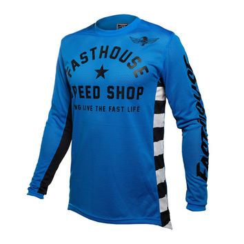 Maillot cross Fasthouse 2020 Originals Air Cooled - Bleu