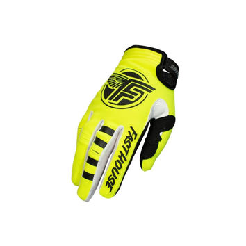 Gants cross Fasthouse 2020 Speedstyle Flight - Jaune Fluo