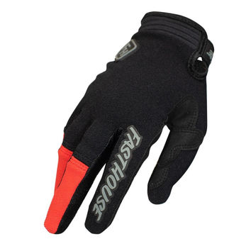 Gants cross Fasthouse 2020 Speedstyle Ridgeline - Noir Rouge