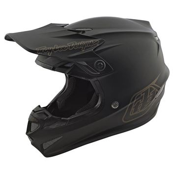 Casque cross enfant Troy Lee Designs 2020 GP Mono - Noir Mat