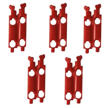 Pack de 5 supports de boîtier Roll Off Scott WFS50 - Red locker