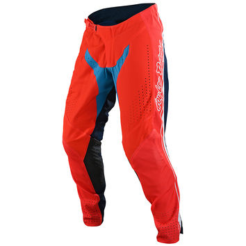 Pantalon cross Troy Lee Designs Spring 2020 SE Pro Boldor - Orange Bleu