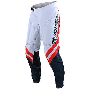 Pantalon cross Troy Lee Designs Spring 2020 SE Ultra Factory Team - Blanc Bleu
