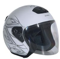 voir Casque Stormer 2011 Flash tribal blanc