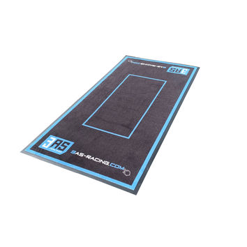 Tapis de sol moto environnemental Race 3AS RACING 100 X 200 cm