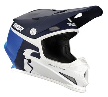 Casque cross Thor 2021 Sector Racer - Bleu