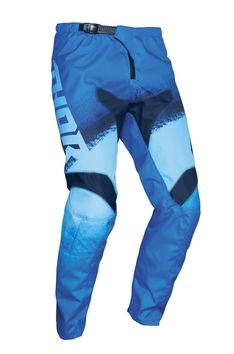 Pantalon cross enfant Thor 2021 Sector Vapor - Bleu