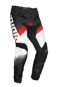 Pantalon cross Thor 2021 Sector Vapor - Rouge Noir