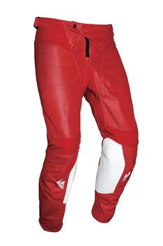 Pantalon cross Thor 2021 Pulse Air Rad - Rouge Blanc