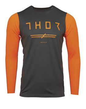 Maillot cross Thor 2021 Prime Pro Unrivaled - Gris Orange Fluo
