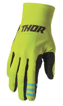 Gants cross Thor 2021 Agile - Jaune Acid