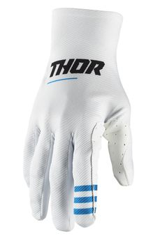 Gants cross Thor 2021 Agile - Blanc