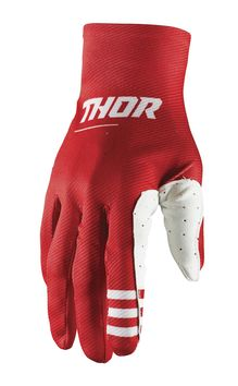 Gants cross Thor 2021 Agile - Rouge