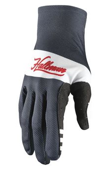 Gants cross Thor 2021 Hallman Mainstay - Bleu Midnight Blanc