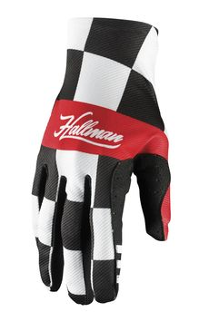 Gants cross Thor 2021 Hallman Mainstay - Jaune Damier