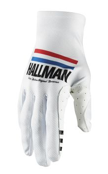 Gants cross Thor 2021 Hallman Mainstay - Blanc