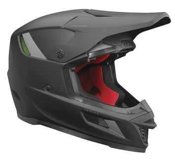 Casque cross Thor 2021 Reflex Blackout MIPS - Noir Mat