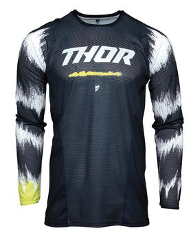 Maillot cross enfant Thor 2021 Pulse Air Rad - Bleu Midnight Blanc