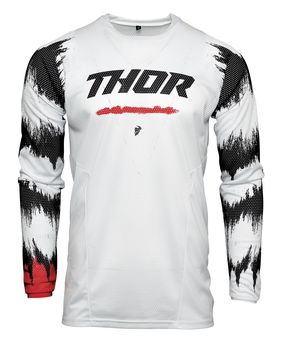 Maillot cross enfant Thor 2021 Pulse Air Rad - Rouge Blanc