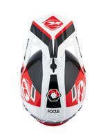 Casque cross Kenny 2021 Track - Noir Rouge