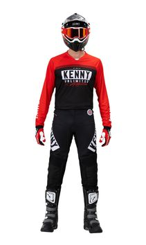 Tenue cross Kenny 2021 Performance Solid - Rouge
