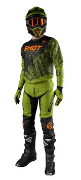 Tenue cross 2021 Shot Devo Storm - Kaki