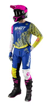 Tenue cross 2021 Shot Devo Storm - Bleu