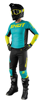 Tenue cross 2021 Shot Aerolite Airflow - Lime