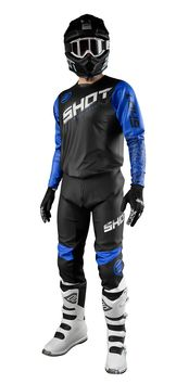 Tenue cross 2021 Shot Devo Slam - Bleu