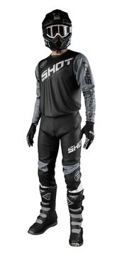 Tenue cross 2021 Shot Devo Slam - Gris