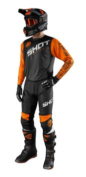 Tenue cross 2021 Shot Devo Slam - Orange