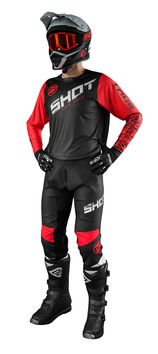 Tenue cross 2021 Shot Devo Slam - Rouge