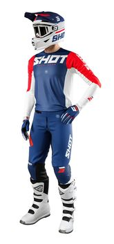 Tenue cross 2021 Shot Aerolite Airflow - Bleu