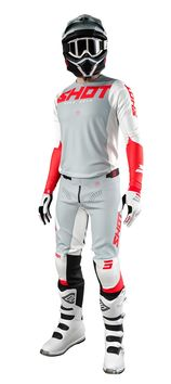 Tenue cross 2021 Shot Aerolite Airflow - Rouge