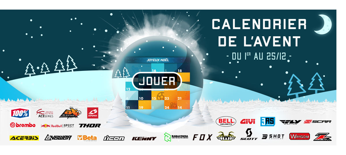 Calendrier de l'Avent 3AS Racing