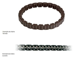 Chaine distribution VERTEX 250 YZ F 2014-2020/ WR F 2015-2020 114 maillons